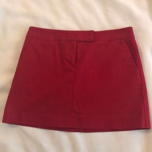 Women's J. Crew mini skirt